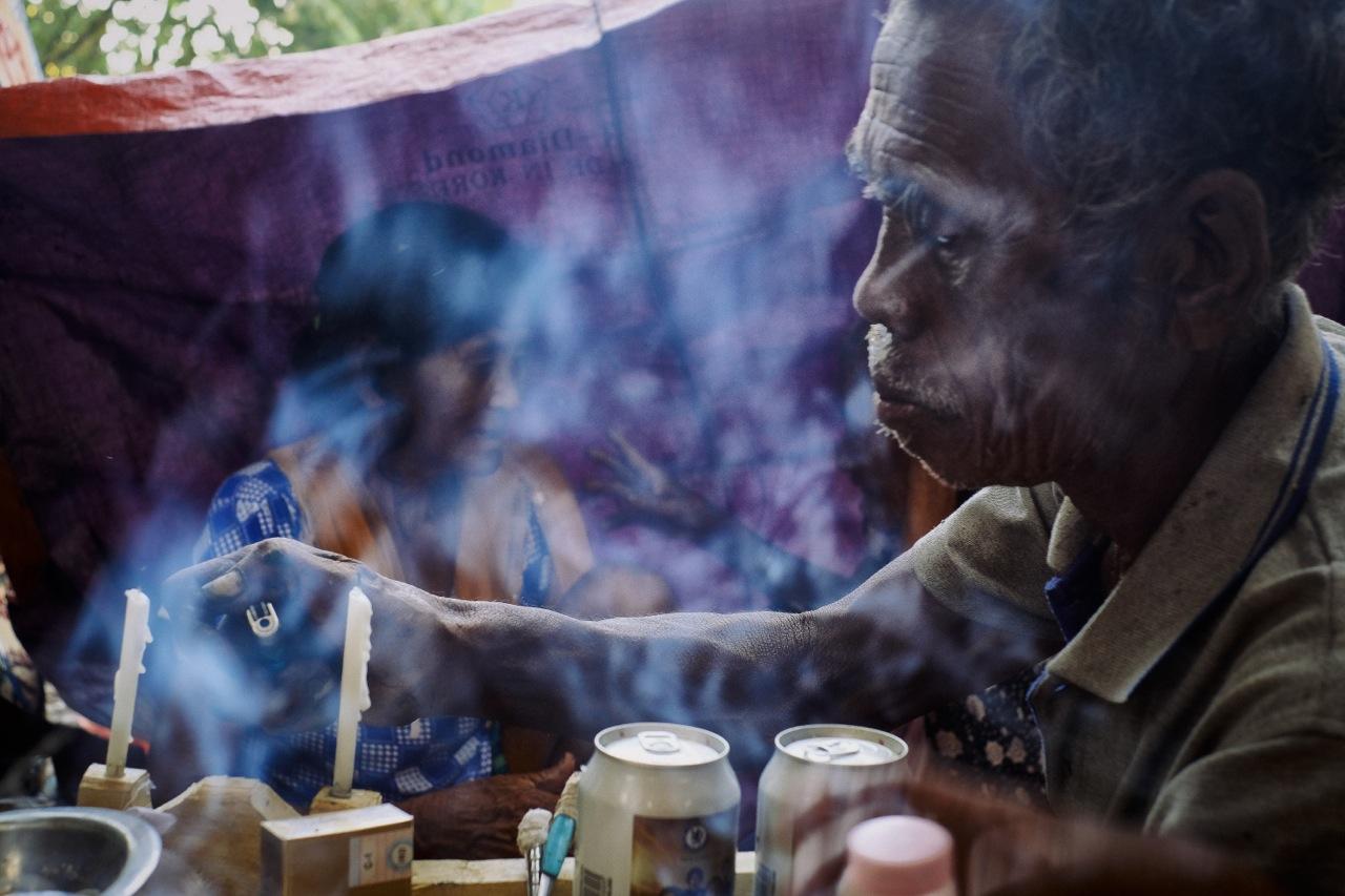 moken shamanic ceromonie - laurent parienti ©2017