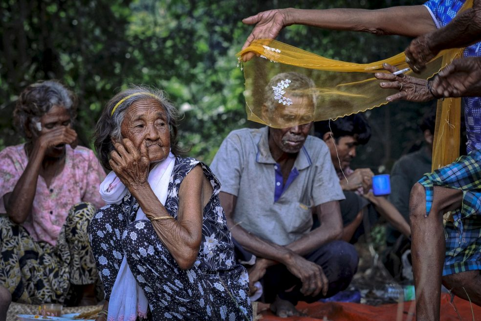 Moken shamanic ceremonies